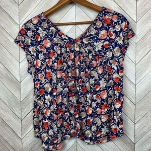Lucky brand boho blouse small